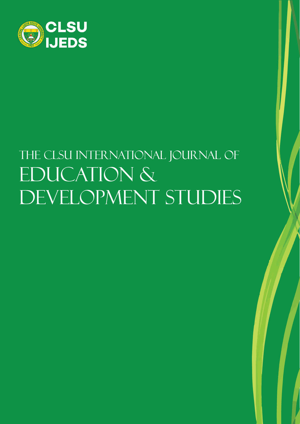 View Vol. 1 No. 1 (2020): CLSU International Journal of Education and Development Studies